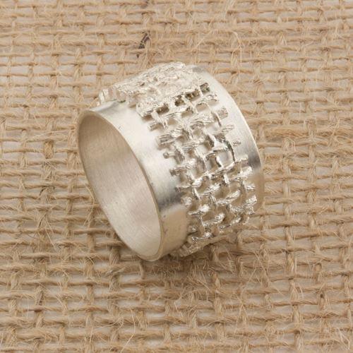 Afbeelding van FAB Jute, ring open met basisring