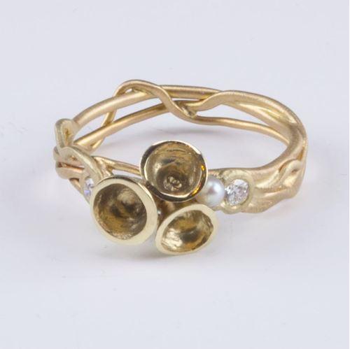 Afbeelding van Chalice Gold, ring unique klein